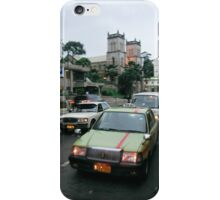 Taxi Cabs on a Side Street in Suva, Fiji iPhone Case/Skin