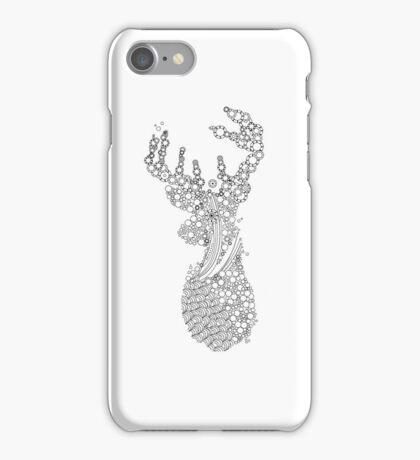 Illustrated deer I iPhone Case/Skin