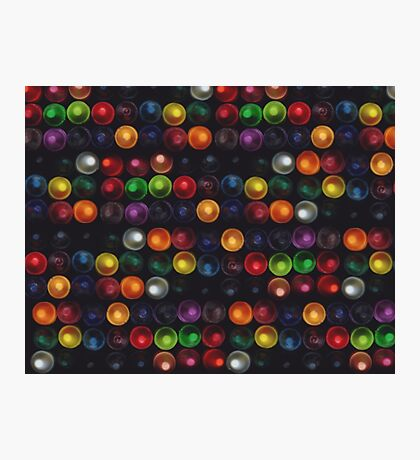 Crayons Photographic Print