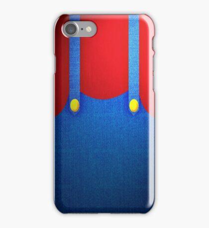 Mario Suit iPhone Case/Skin