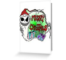Merry Jackmas Greeting Card