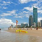 Summer Begins - Surfers Paradise Qld Australia by Beth  Wode