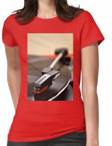 Vinyl In Motion Womens Fitted T-Shirt