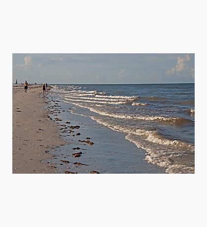 Walking the Surf  Photographic Print