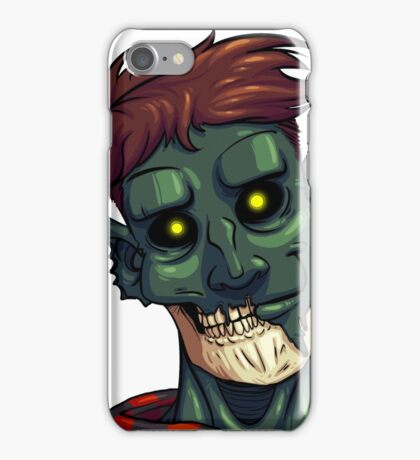 Face of The Undead iPhone Case/Skin
