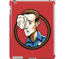 Time Travelers, Series 3 - T-1000 (Alternate) iPad Case/Skin