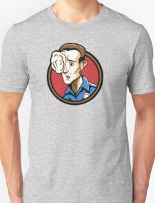 Time Travelers, Series 3 - T-1000 (Alternate) Unisex T-Shirt