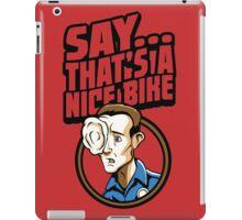 Time Travelers, Series 3 - T-1000 (Alternate 2) iPad Case/Skin