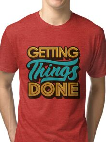 Getting Things Done2 T-shirt Chiné