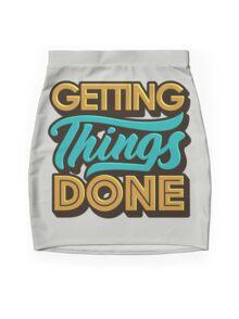 Getting Things Done2 Minijupe