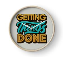 Getting Things Done2 Clock