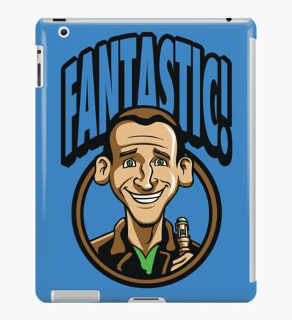 Time Travelers, Series 3 - The Ninth Doctor (Alternate 2) iPad Case/Skin