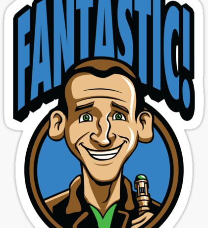 Time Travelers, Series 3 - The Ninth Doctor (Alternate 2) Sticker