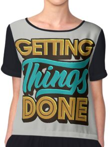 Getting Things Done2 Top mousseline femme