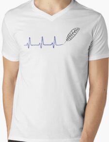 Quillbeats Mens V-Neck T-Shirt