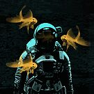 astronauts and goldfish by Vin  Zzep