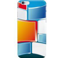 Abstract Windows Digital Vector art iPhone Case/Skin