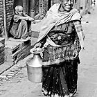 Woman in Bhaktapur by Valerie Rosen