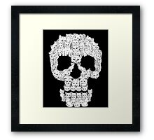 Skulls-Are For-Pussies Framed Print