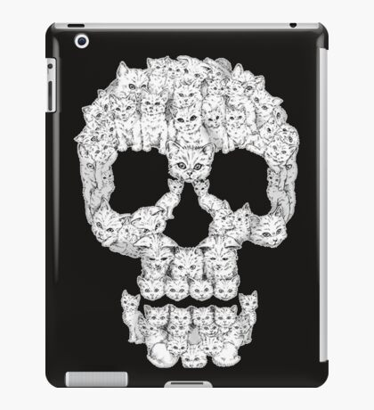 Skulls-Are For-Pussies iPad Case/Skin