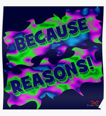 Because Reasons! Poster
