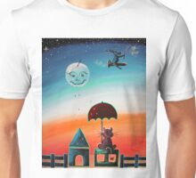 Teardrops Keep Falling -  For Children Paintings by Valentina Miletic Unisex T-Shirt