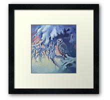 Polar Owl Framed Print