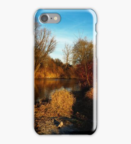 flaming shore I iPhone Case/Skin