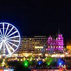 Edinburgh City - Xmas lights by Sajeev Chandrasekhara Pillai
