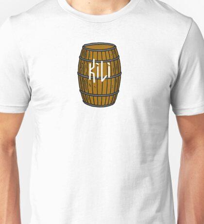 Kili in barrel Unisex T-Shirt