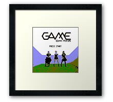 Perfume Game NES Start Screen Framed Print