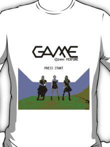 Perfume Game NES Start Screen T-Shirt