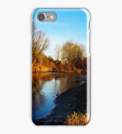flaming shore III iPhone Case/Skin