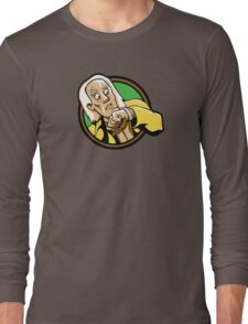 Time Travelers, Series 1 - Doc Brown (Alternate) Long Sleeve T-Shirt