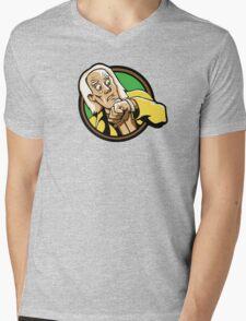 Time Travelers, Series 1 - Doc Brown (Alternate) Mens V-Neck T-Shirt