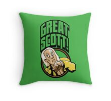 Time Travelers, Series 1 - Doc Brown (Alternate 2) Throw Pillow