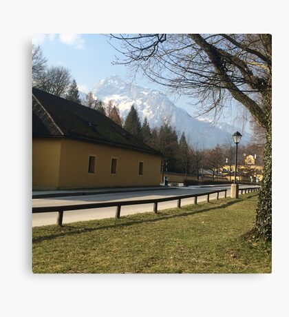 Near the Sound of Music Gazebo- Austria Canvas Print