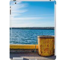 Fishermans Cove, Nova Scotia iPad Case/Skin