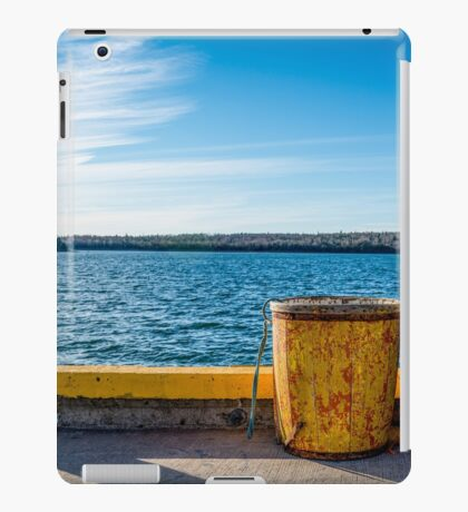 Fishermans Cove, Nova Scotia iPad Case/Skin