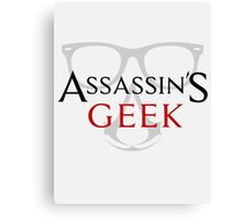 assassins geek Canvas Print