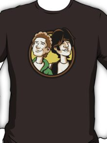 Time Travelers, Series 2 - Bill & Ted (Alternate) T-Shirt