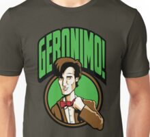Time Travelers, Series 2 - The 11th Doctor (Alternate 2) Unisex T-Shirt