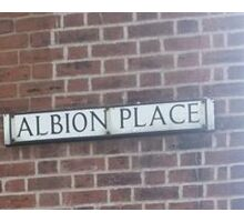 Albion Place Sticker