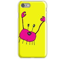 CLARISSA THE CRAB iPhone Case/Skin