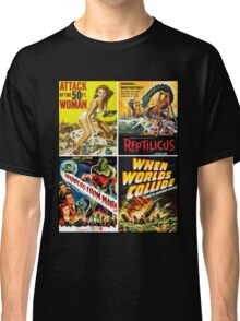 1950s Sci-Fi Poster Collection #2 Classic T-Shirt