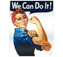 We Can Do It - War Poster Poster