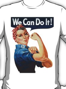 We Can Do It - War Poster T-Shirt