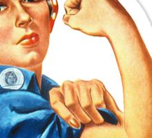 We Can Do It - War Poster Sticker