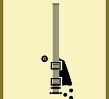 Guitar Art - Les Paul STD by PPWGD