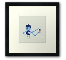 John Stockton Gives the Gift of the Assist Framed Print